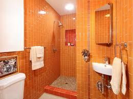 orange bathroom ideas best 25 contemporary orange bathrooms ideas on