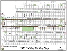 Iit Campus Map City Continues Free Holiday Parking Program To Attract Downtown