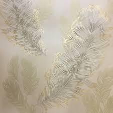 arthouse sirius wallpaper gold 673601 an elegant feather design