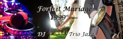 mariage clã en forfait mariage musique formule clé en productions top note