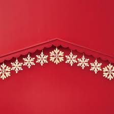 9ct twinkling snowflake icicles string lights