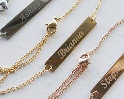 easy name bracelet images Custom name bracelet etsy jpg