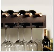 wood wine rack shelf creative living room wall wine rack