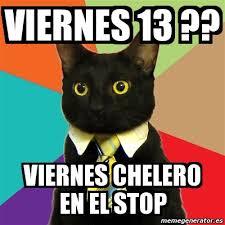 imagenes de viernes chelero meme business cat viernes 13 viernes chelero en el stop 5601800