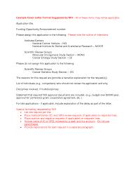 interesting cover letter nih cover letter cv resume ideas