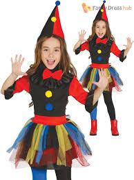 Halloween Clown Costumes by Childs Killer Clown Costume Girls Circus Halloween Fancy Dress Kid