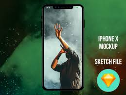 iphone x mockup sketch file download by darshit shah dribbble