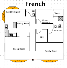french floor plans french house style a free ez architect floor plan for windows
