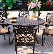Patio Dining Sets Seats 6 - round patio dining set seats 6 home design ideas