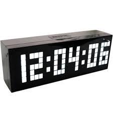 Home Decor Wall Clocks Best Jumbo Led Alarm Clock Countdown Timer Wall Clock Home Decor
