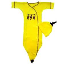 Newborn Bunting Halloween Costumes Baby Bananas Bunting Gown Banana Costume Preemie Pride