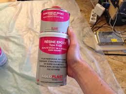resine epoxy sur bois fab academy week 13
