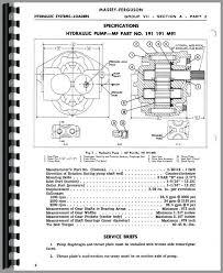 massey ferguson 65 wiring diagram efcaviation com