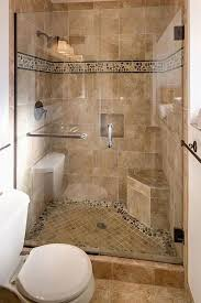 bathroom tile design ideas for small bathrooms glass shower door and simple colored tiles design ideas for