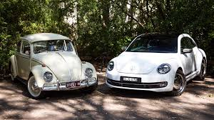 future volkswagen beetle volkswagen beetle old v new 1965 v 2017