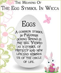 in paganism and wicca the egg represents it is a symbol of