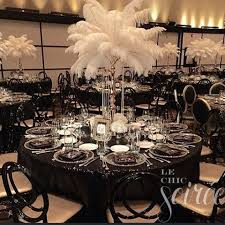 theme wedding decorations new black and white event decor http www mybigdaycompany