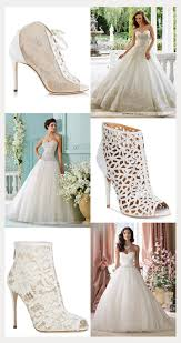 jimmy choo wedding dress gowns bridal booties for a winter wedding mon cheri bridals