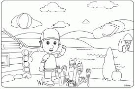 handy manny tools coloring pages handy mandy coloring pages coloring home