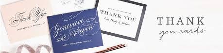 wedding thank you postcards wedding thank you cards wedding thank you notes by basic invite