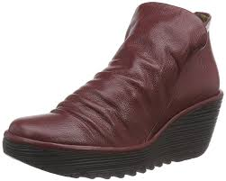 brown leather biker boots fly london fly london women u0027s nota unlined biker boots half length