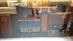 Vintage Reception Desk with The Reception Desk Made Of Vintage Suitcases Picture Of