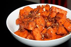 Candied Yams Thanksgiving Pecan Praline Candied Yams