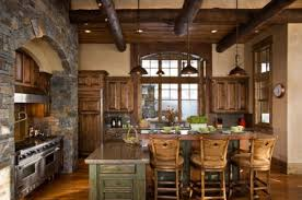 custom kitchen ideas rustic kitchen island kitchentoday