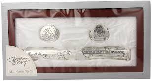 silver keepsake box stephan baby satin lined rosewood keepsake box with