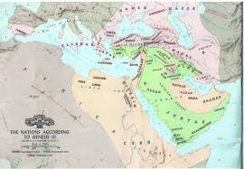 Biblical Map Of The Middle East by Ancient Middle East From Noah To Christ