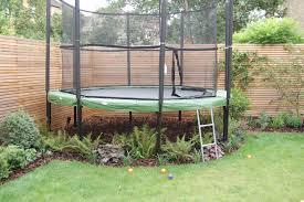 Backyard Ideas Pinterest by Shelley Hugh Jones Garden Design Underplanted Trampoline