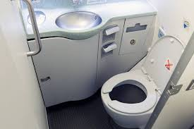 the one of plane bathroom etiquette you re not doing
