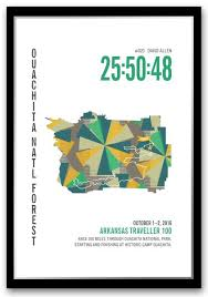 Arkansas traveler checks images Marathoner maps run ink jpg