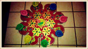 how to involve kids in making diwali diya at home