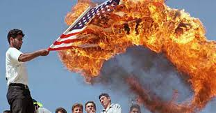 How To Dispose Of Us Flag Burning The American Flag Youtube