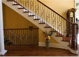 home interior railings wood and metal stair railing dragonspowerup