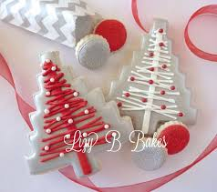 image result for christmas cake biscuits decorations b