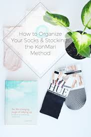 how to organize your socks u0026 stockings the konmari method