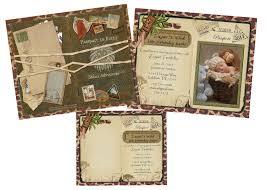 safari passport invitation announcement for wedding birthday