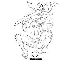 teenage mutant ninja turtle free coloring pages on art coloring