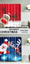 Discount Christmas Shower Curtains Shower Curtain Set Christmas Shower Curtain Set Bathroom