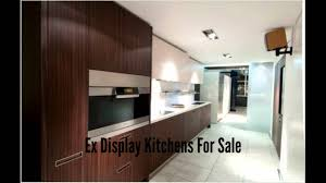 ex display kitchens for sale youtube