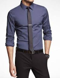 what shirt and tie should one wear to a promotion interview with a