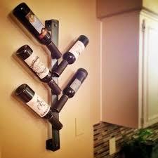 unique handmade wine rack designs