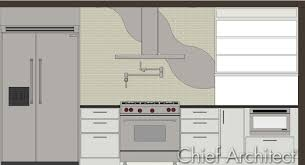 Chief Architect Kitchen Design by 2c Five 12 Kitchen Custom Backsplash Design Youtube