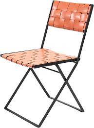 Folding Chair Leather Lina Leather Folding Dining Chair Leather Chairs In Many Colors