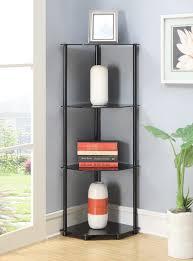 Black Corner Bookcase Bathroom Lack Wall Shelf Unit Black Ikea Corner Uk Stand Walmart