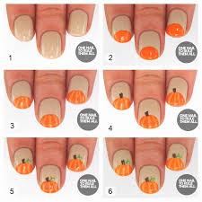 diy pumpkin nails nails fall diy craft nail art nail trends diy