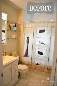 small bathroom ideas blue and yellow shower curtain loversiq