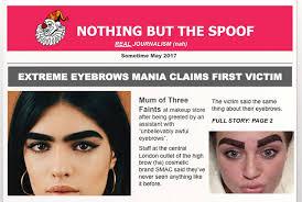 Bushy Eyebrows Meme - extreme beauty craze claims mum of three as first victim